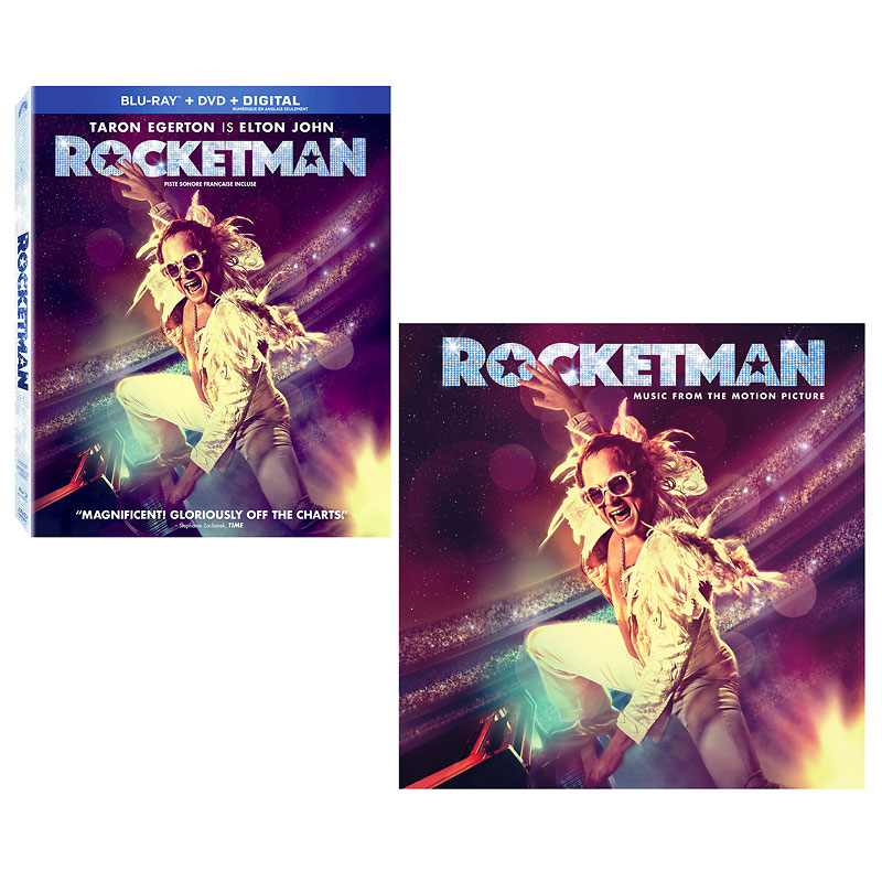 Rocketman - Blu-ray + Rocketman (Original Motion Picture Soundtrack) - CD - PKG #21459