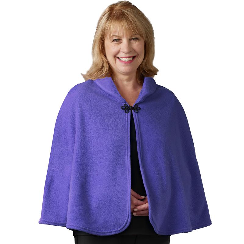 6feef0c957a Silvert s Polar Fleece Bed Jacket - Violet