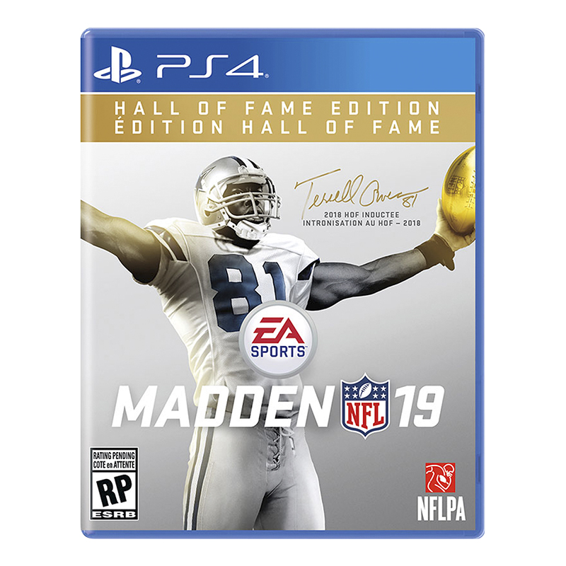 PS4 Madden NFL 19: Hall of Fame Edition
