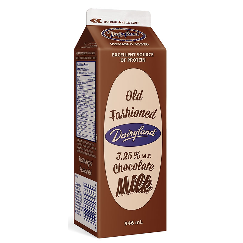 Dairyland Chocolate Milk - 946ml