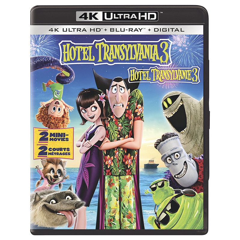 Hotel Transylvania 3: Summer Vacation - 4K UHD Blu-ray