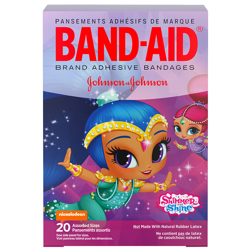Johnson & Johnson Band-Aid Shimmer Shine - 20's