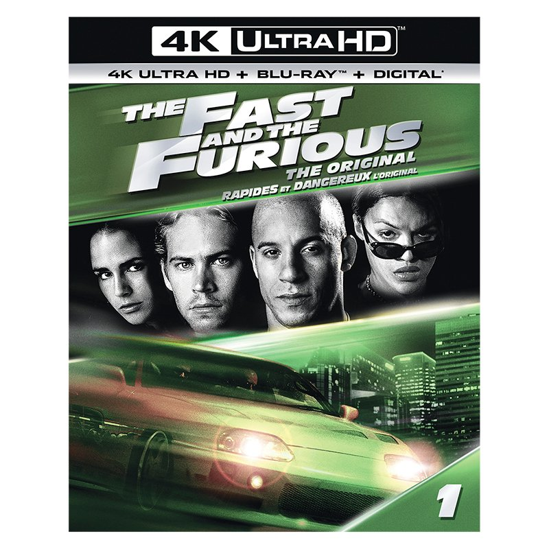 The Fast and the Furious - 4K UHD Blu-ray