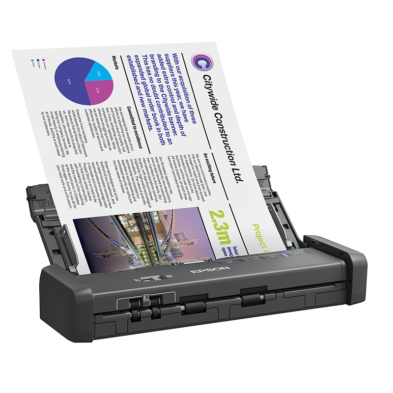 Epson Workforce ES-200 Duplex Document Scanner - B11B241201