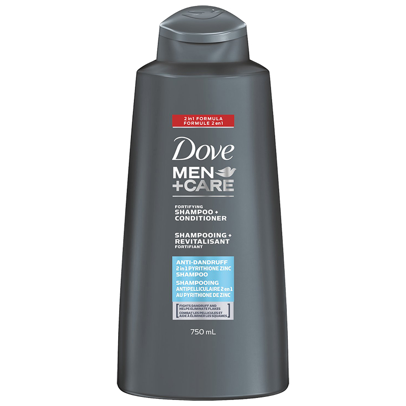 Dove Men+Care Anti-Dandruff Shampoo & Conditioner - 750ml