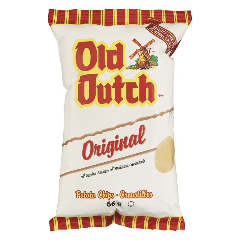 Old Dutch Original Chips - 66g