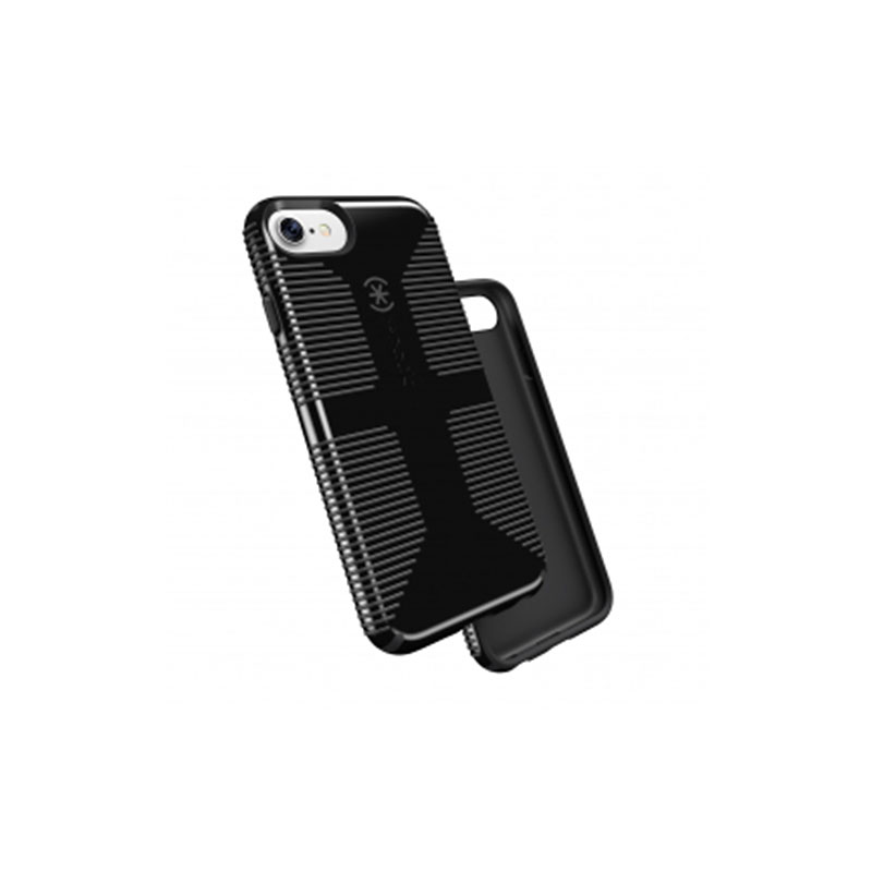 Speck CandyShell Grip for iPhone 7 - Black/Grey - SPK79239B565