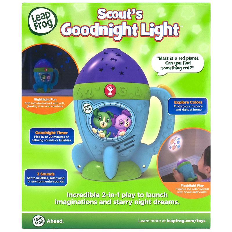 LeapFrog Scout's Goodnight Light - 8019317E