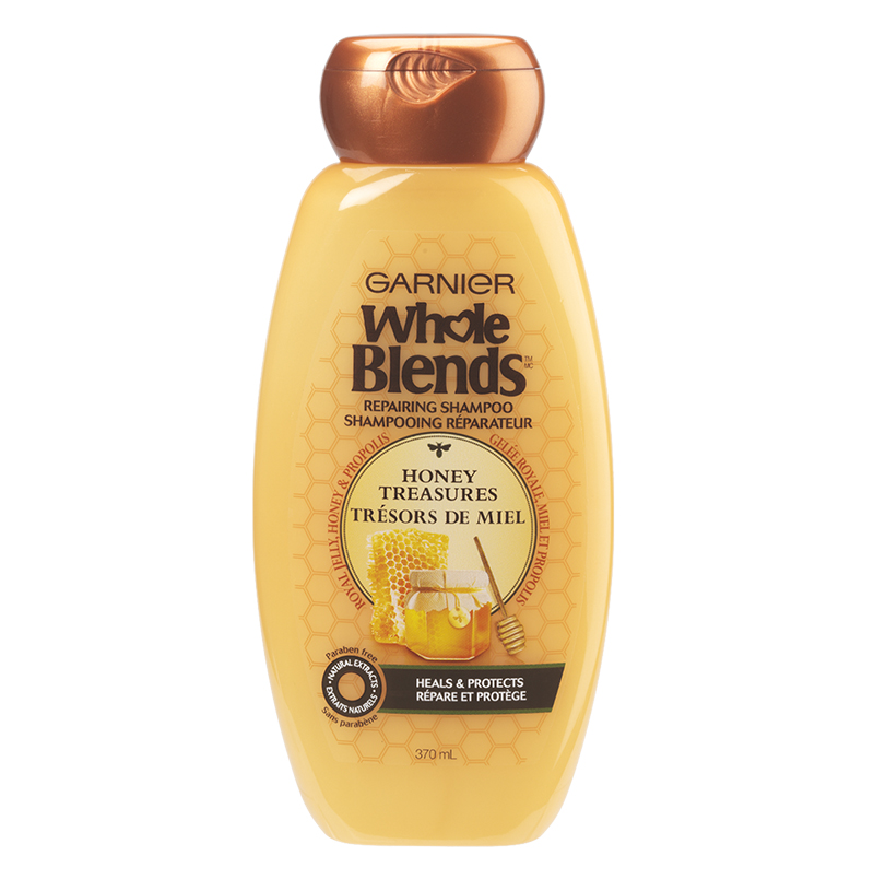 Garnier Whole Blends Repairing Shampoo - Honey Treasures - 370ml