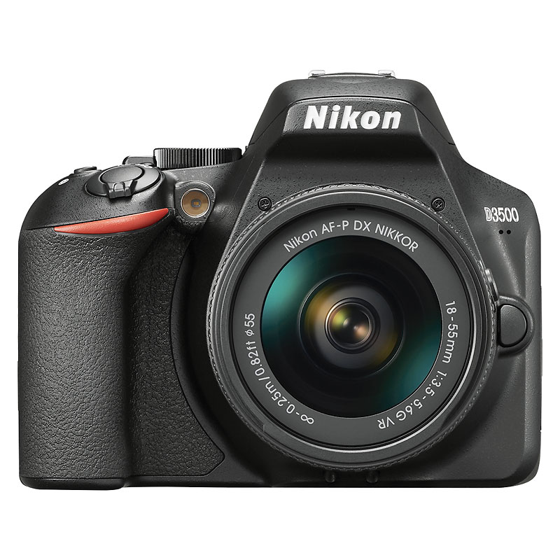 Nikon D3500 with 18-55mm VR Lens - Black - 33896