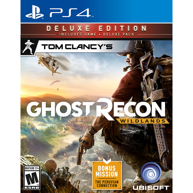 PS4 Tom Clancys Ghost Recon Wildlands - Deluxe Edition