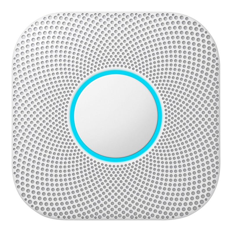 Google Nest Protect 2nd Generation (Battery) Smoke/Carbon Alarm with Wi-Fi -S3000BWEF