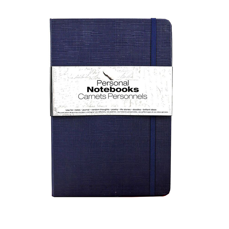 SpiceBox Notebook - Navy - 3 pack
