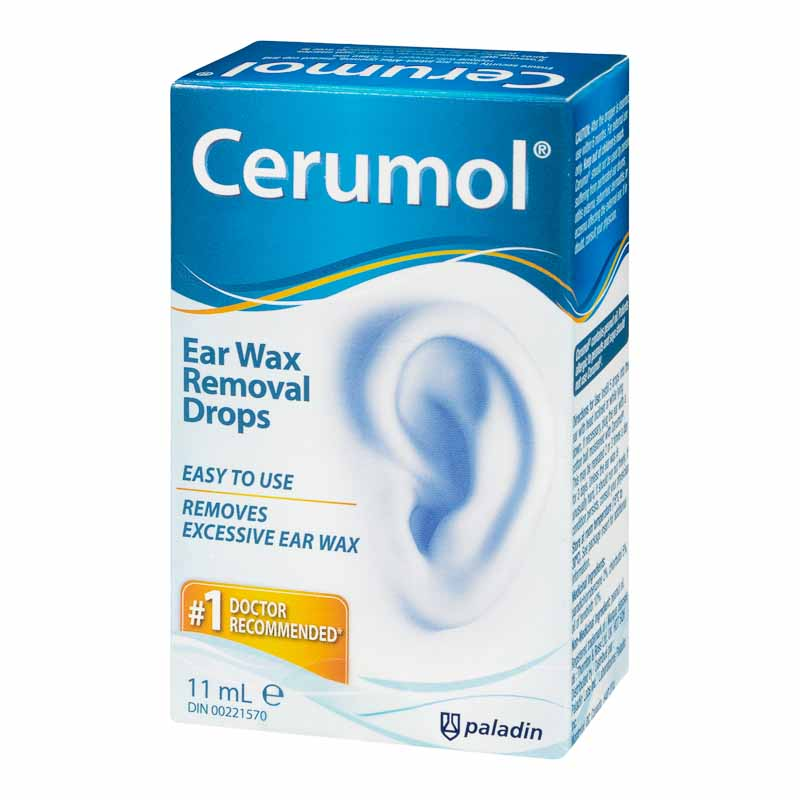 Cerumol Ear Wax Remover - 11ml