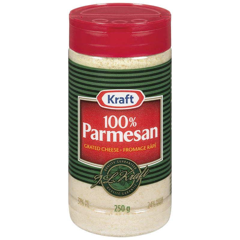 Kraft Parmesan Grated Cheese - 250g