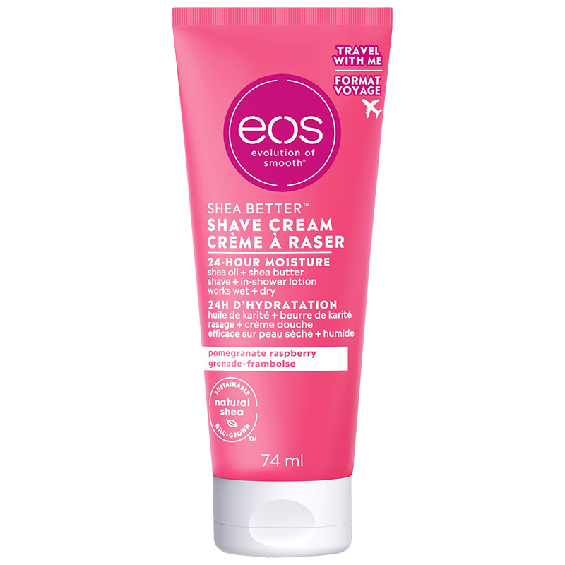 eos Shave Cream - Pomegranate Raspberry - 74ml