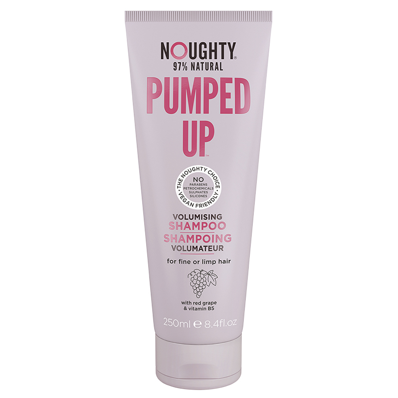 Noughty 97% Natural Pumped Up Shampoo - Volumising - 250ml