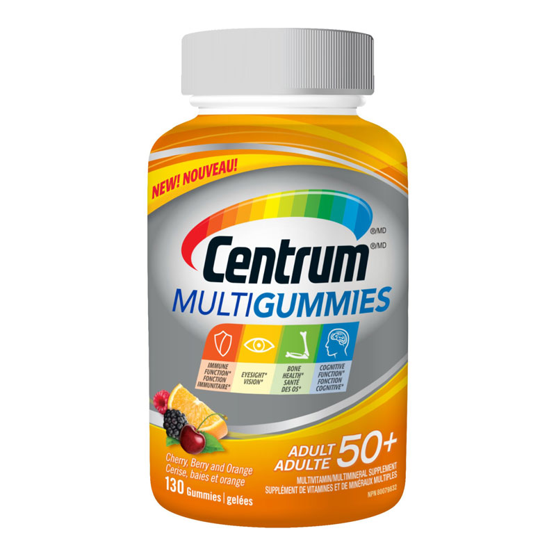 Centrum Multigummies 50+ - 130's