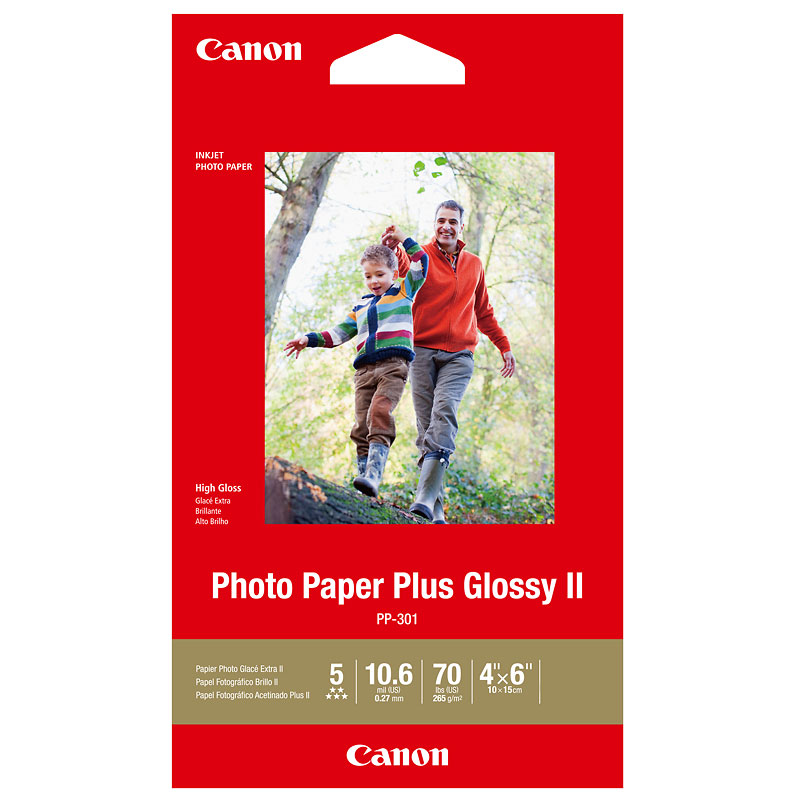Canon Glossy Photo Paper - 4 x 6 inch - 20 Sheets - 1432C004