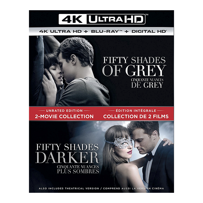 Fifty Shades of Grey: Two Movie Collection - 4K UHD Blu-ray
