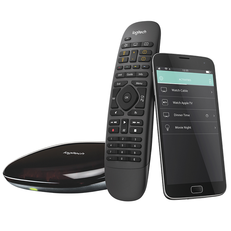Harmony Home Control Remote - Black - HOME CONTROL