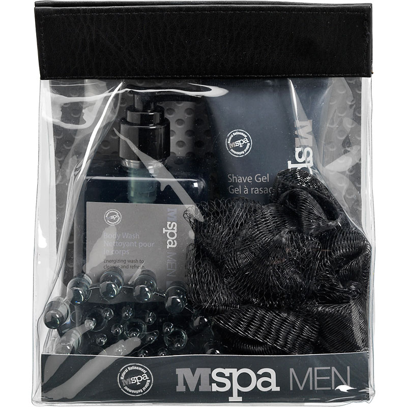 Mspa men 39 s bath gift set 4 piece london drugs for Mens bath set