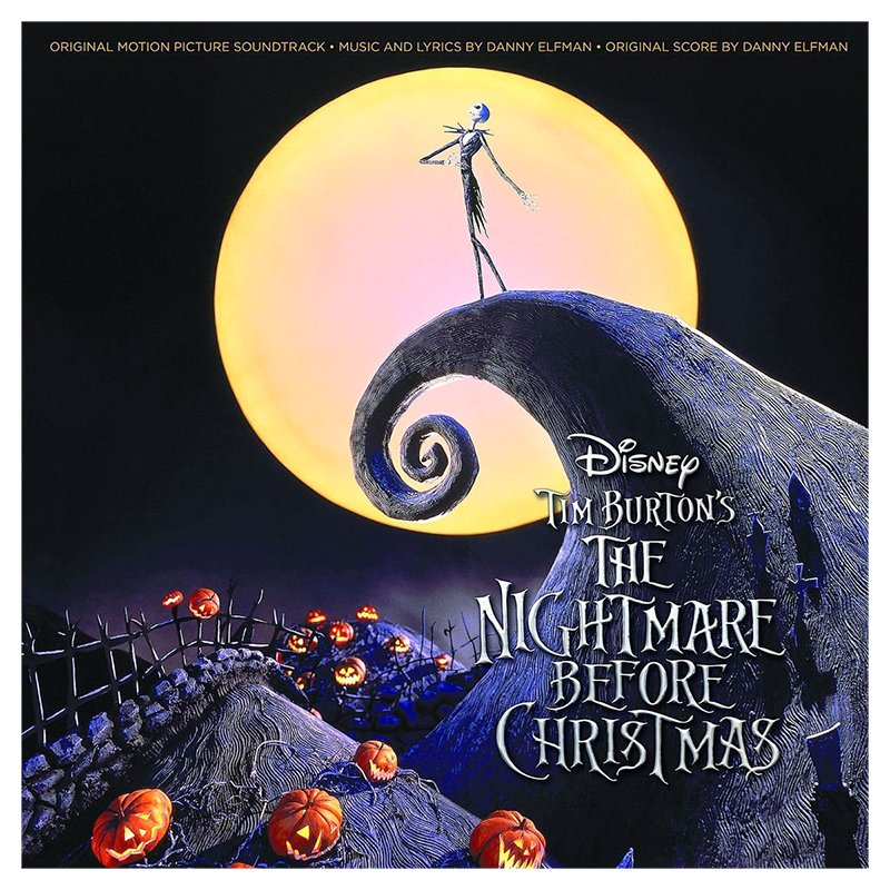 Soundtrack - The Nightmare Before Christmas - 2 LP Vinyl