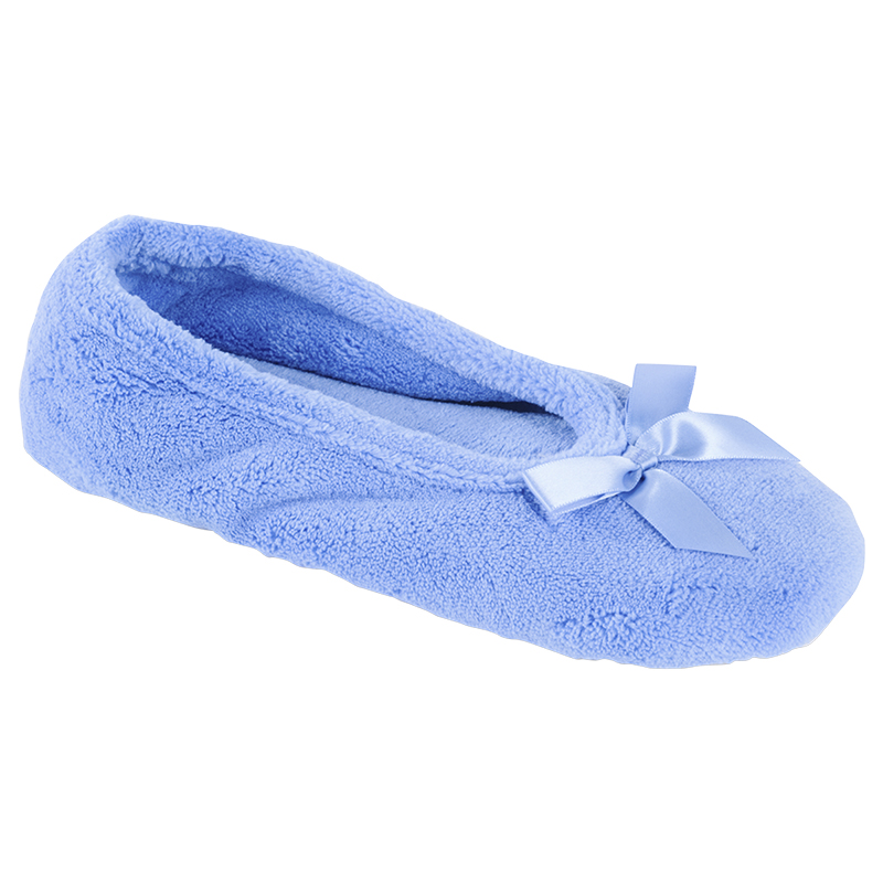 Isotoner Women's Microterry Ballerina Slipper