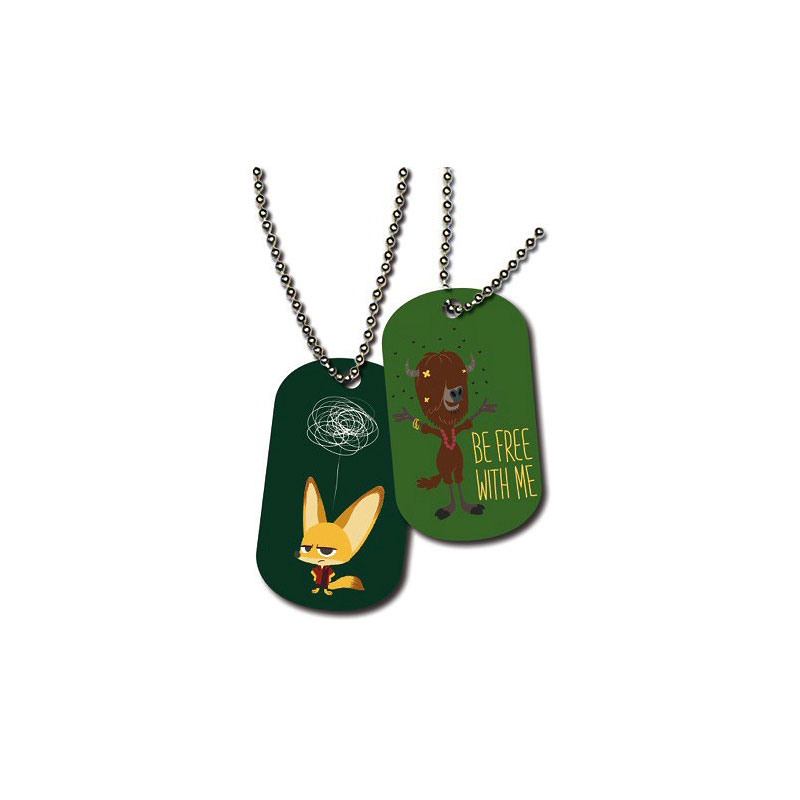 ZooTopia Collectible Dogtags