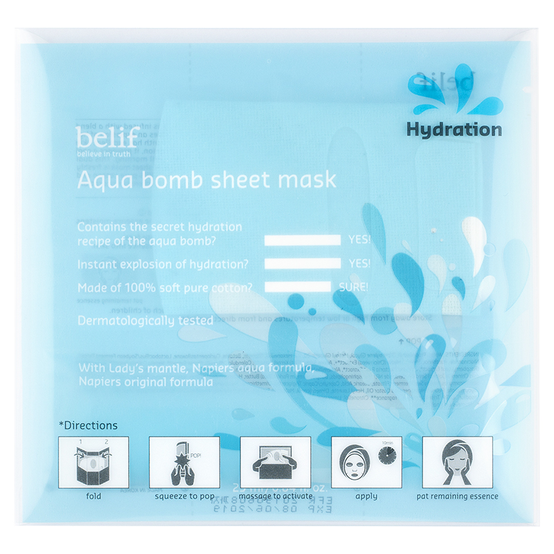 belif Aqua Bomb Sheet Mask - 25ml