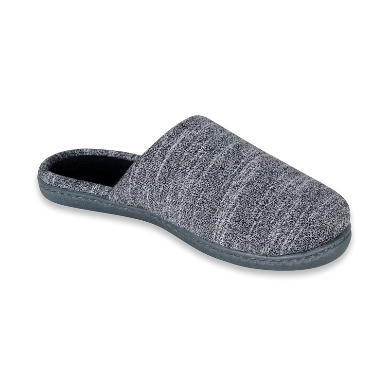 Isotoner Heathered Ballerina Clog Slipper