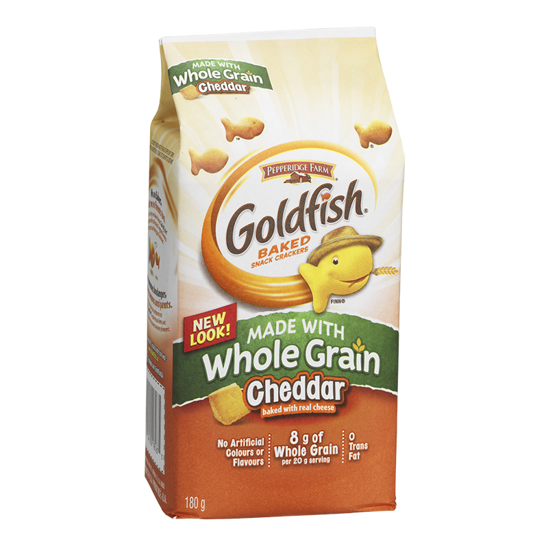 Pepperidge Farm Cheddar Goldfish made with Whole Grain - 180g