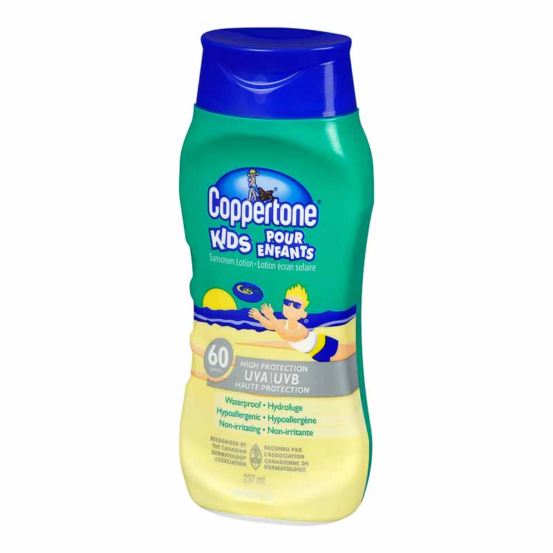 Coppertone Kids Sunscreen Lotion - SPF 60 - 237ml