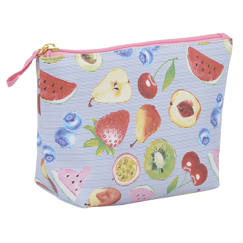 Modella Gusseted Clutch - Fruit Pattern - A009592LDC