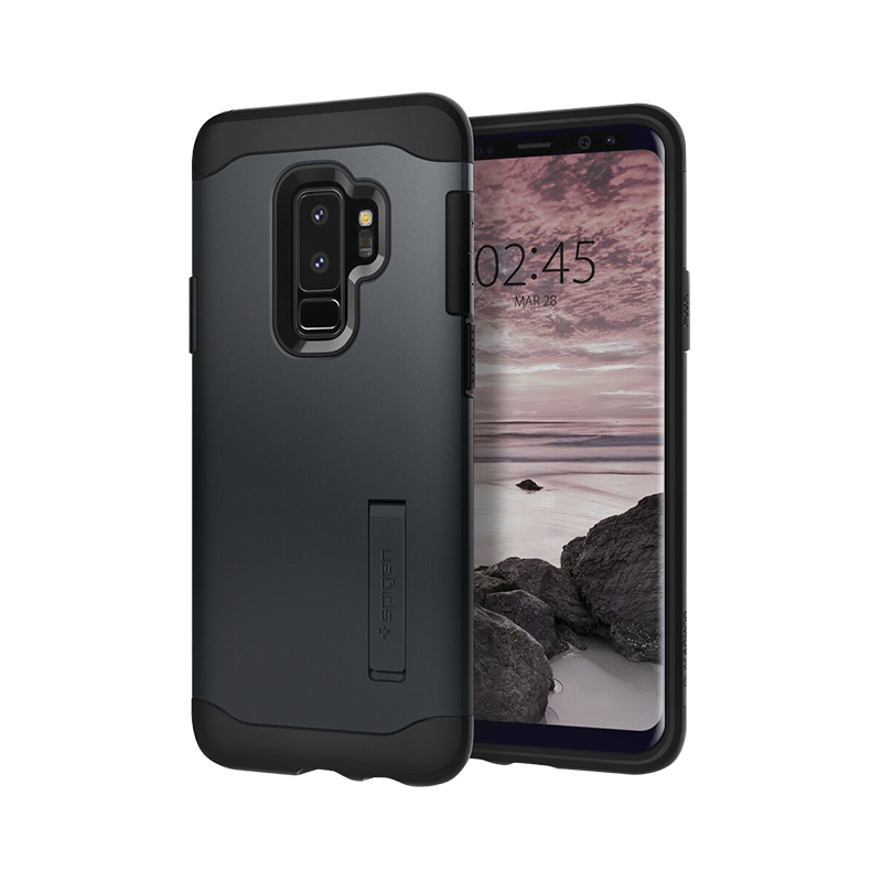 Spigen Slim Armor Case for Samsung Galaxy S9+ - Metal Slate - SGP593CS22966