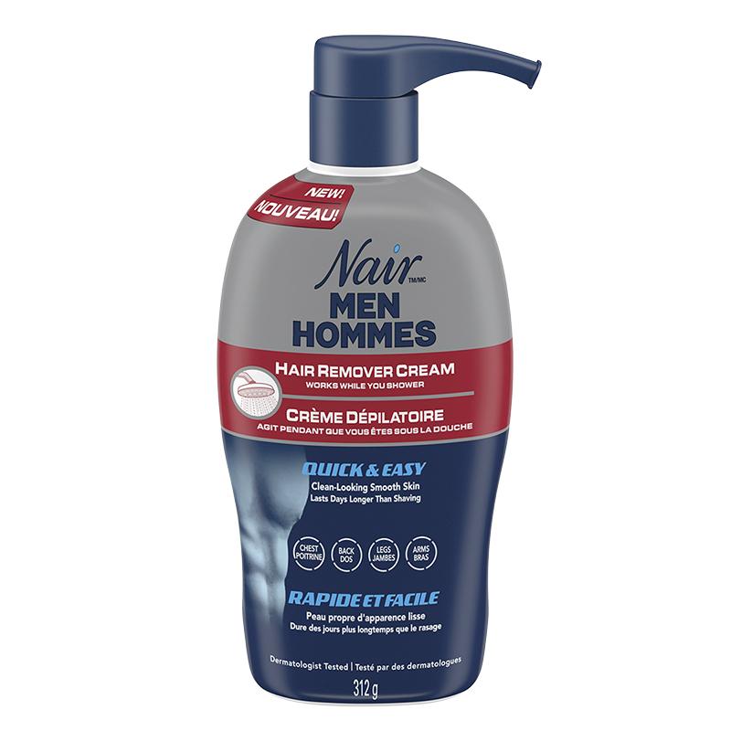 Nair Men Hair Remover Cream 312g London Drugs
