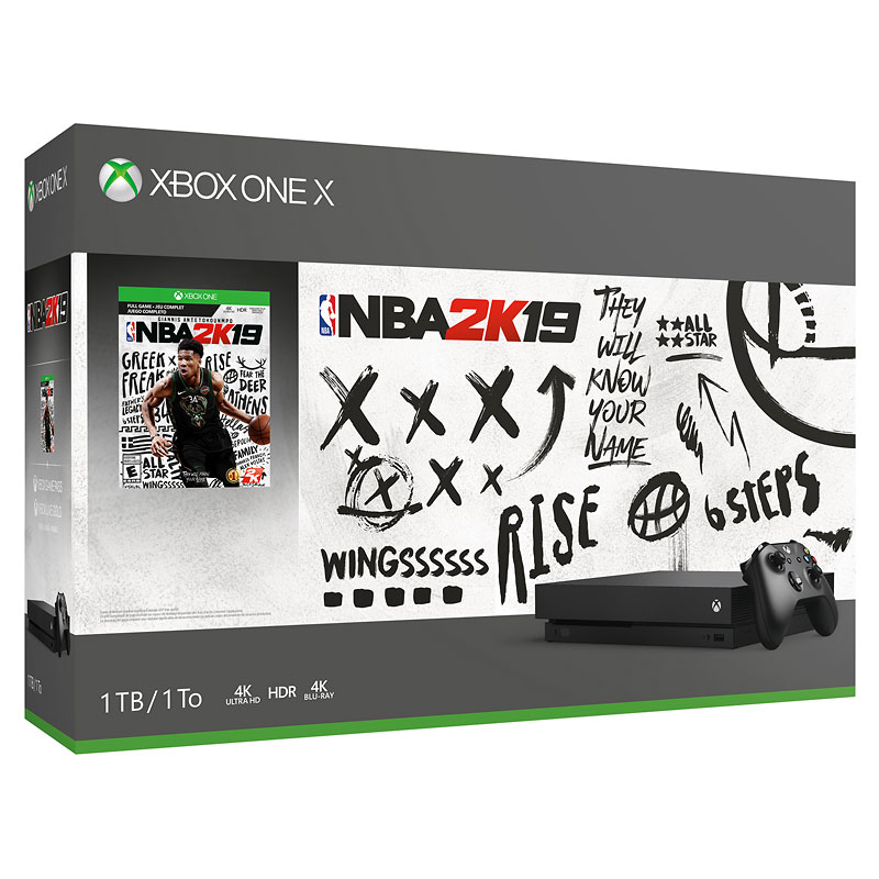 Xbox One X 1TB Console NBA 2K19 Bundle
