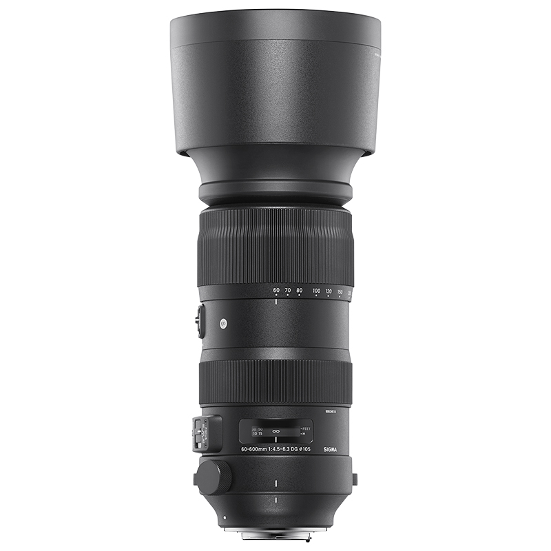 Sigma 60-600mm F4.5-6.3 Sport DG HSM Optical Stabilized Lens for Canon - SOS6006DGC