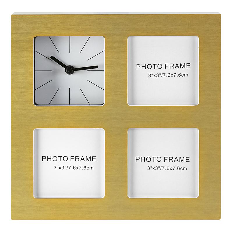 Kg Sidney Clock Frame Gold 3 3x3 Inch Ph40126 7 London Drugs
