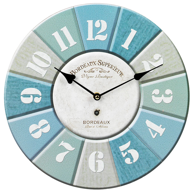 London Drugs Wall Clock - Bordeaux Superieur