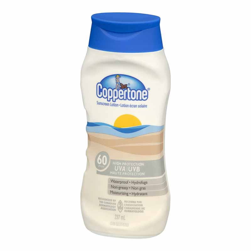 Coppertone Sunscreen Lotion - SPF 60 - 237ml