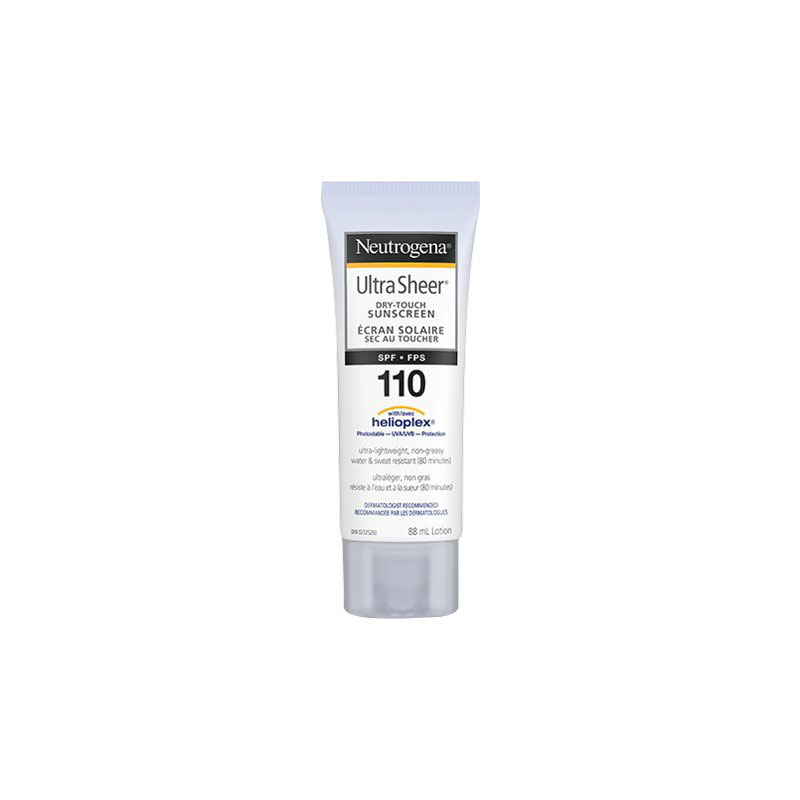 Neutrogena Ultra Sheer Dry Touch Sunscreen Lotion - Water Resistant - SPF 110 - 88ml