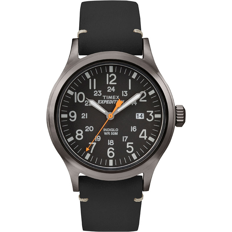 Timex Scout Medal Watch - Black - TW4B01900GP