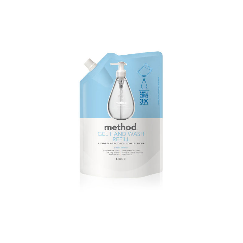Method Hand Wash Refill - Sweet Water - 1L