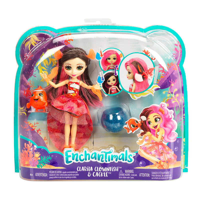 Enchantimals Water Doll - Assorted