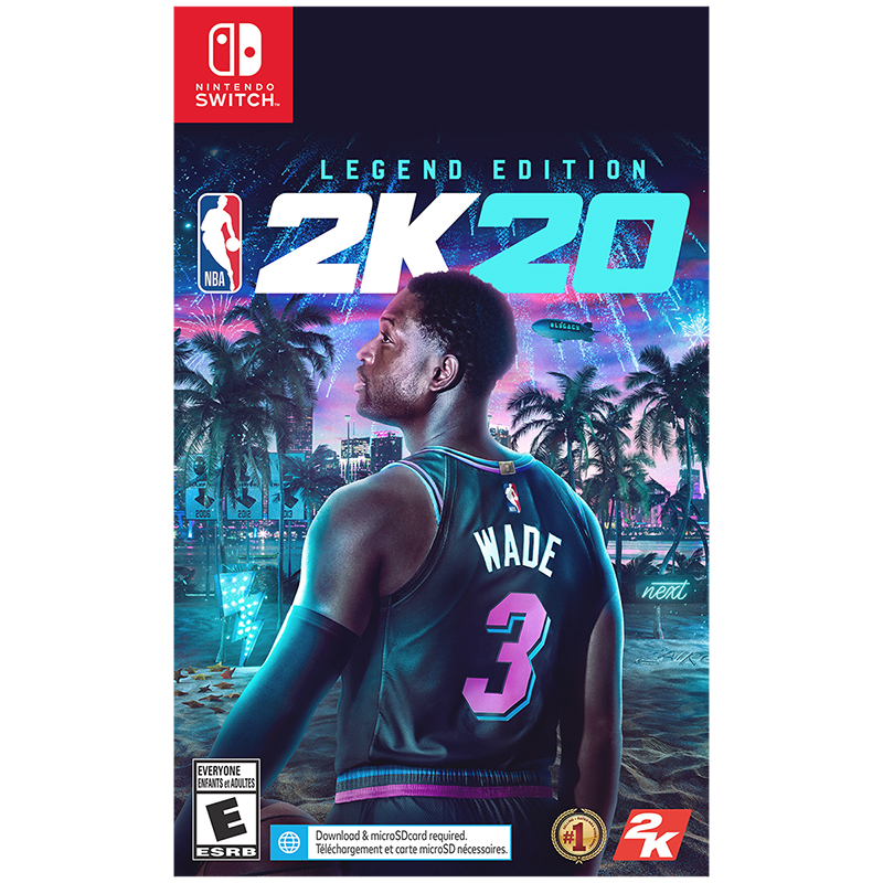 Nintendo Switch NBA 2K20 Legend Edition