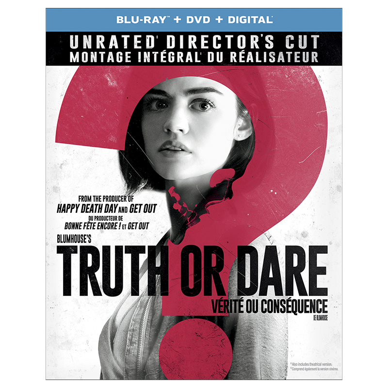 Truth Or Dare - Blu-ray