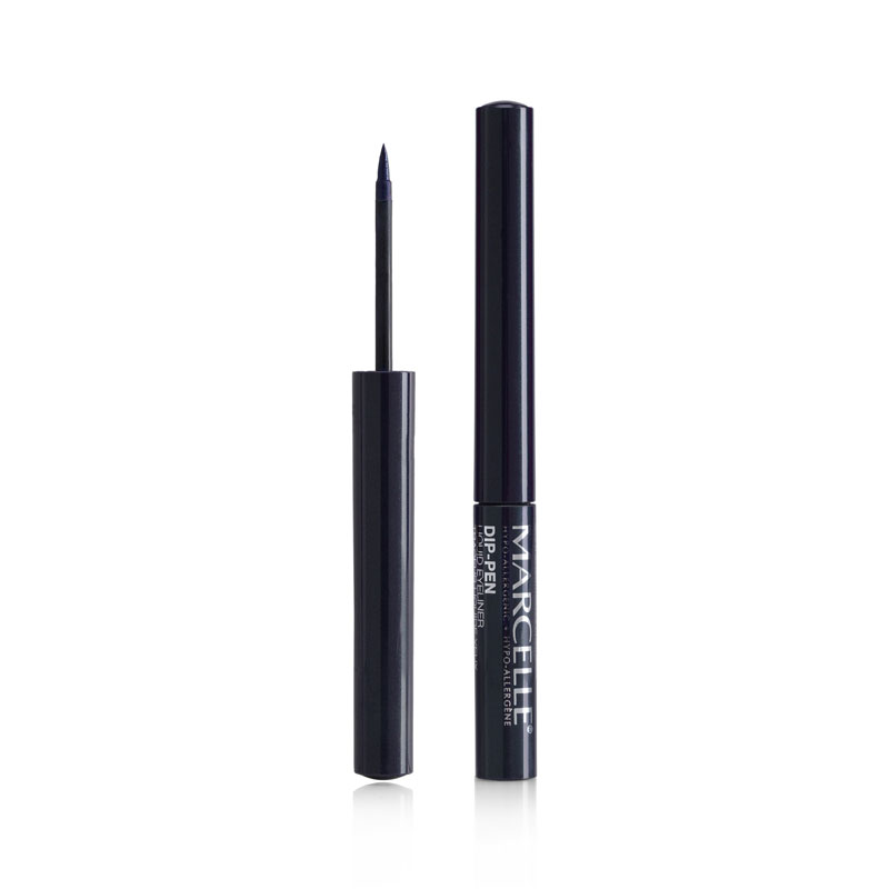 Marcelle Waterproof Liquid Dip-Pen Eyeliner - Navy