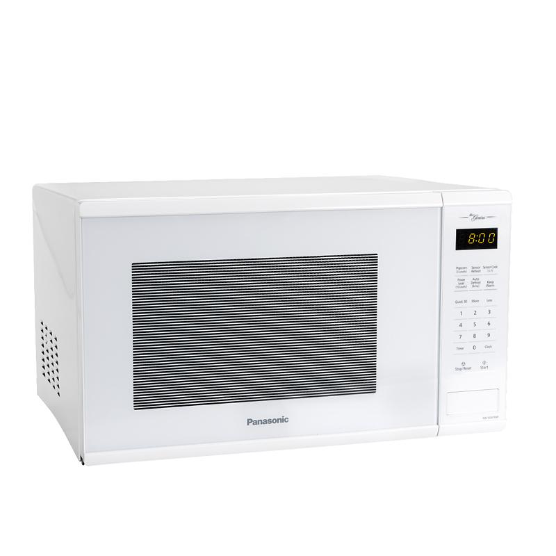 Panasonic 1 3 Cu Ft Genius Microwave White