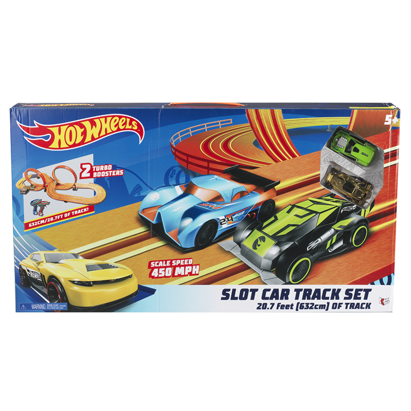 Hot Wheels Slot Track Set - 20.7ft.